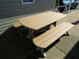 picnic table kit large