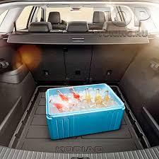 <b>Пластиковый поддон в багажник</b> для KODIAQ