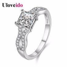 Uloveido кольца для женщин Bijoux обручальное <b>кольцо Винтаж</b> ...