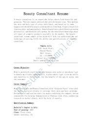 beauty s consultant resume sample resume outside s beauty consultant resume exle sample resume outside s beauty consultant resume exle