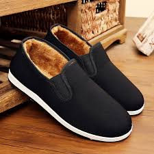 <b>Men's cotton shoes winter</b> large size plus velvet warm old Beijing ...
