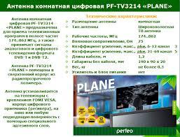 🤑 <b>Антенна Perfeo</b> KITE (PF_A4210)