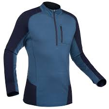 FORCLAZ Men's Mountain Trekking Long-sleeved Merino <b>T</b>-<b>Shirt</b>...