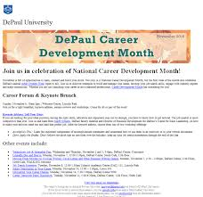 mass emails strategy and tools depaul s approach handshake sample mass emails using handshake
