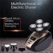 Premium <b>4D Electric Shaver</b>- 5-in-1 Rechargeable <b>Electric Razor</b> ...
