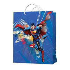 Superman. <b>Пакет подарочный</b> малый-3, 180*227*100 мм