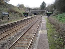 Wood End railway station