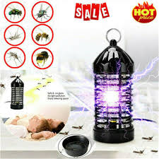 Electric Fly <b>Bug Zapper</b> Mosquito <b>Insect Killer LED</b> Light Trap Lamp ...