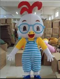 2019 Hot sale Glasses <b>chicken mascot</b> costume <b>Adult</b> children <b>size</b> ...