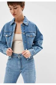 <b>Куртка</b> джинсовая <b>Sportmax Code Sportmax Code</b> VIVETTA купить ...