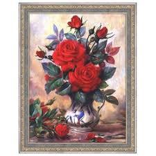 «<b>Алмазная мозаика</b> Алмазная <b>Живопись</b> Прекрасные розы ...
