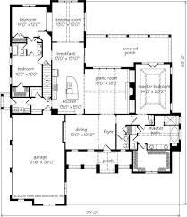 magnolia springs frank betz associates, inc southern living Southern House Plans One Story Southern House Plans One Story #25 one story house plans southern living