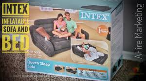 <b>Intex</b> Inflatable <b>Couch</b> with <b>Pull</b>-<b>out</b> Bed | Full Review - YouTube