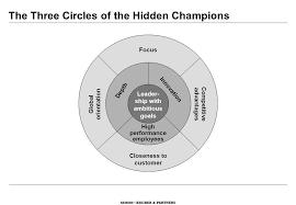 hidden champions circles brand innovative hidden