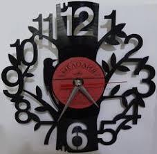 "<b>Часы</b> из виниловой пластики ""Дерево"" | konstar | <b>Часы</b> и Дерево"