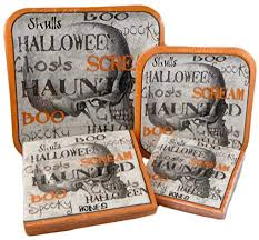 Happy <b>Halloween Square Gothic</b> Skeleton Paper Plates and ...