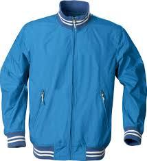 <b>Ветровка унисекс GARLAND</b>, голубая под нанесение логотипа ...