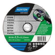 <b>Круг отрезной по</b> бетону Norton 230 х 2,5 х 22,2 мм - купите по ...