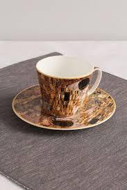<b>Чашка с блюдцем</b> из фарфора поцелуй <b>Carmani</b> - купить, цена ...