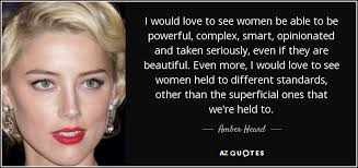 TOP 25 QUOTES BY AMBER HEARD (of 80) | A-Z Quotes via Relatably.com
