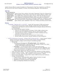 resume samples qa testers  seangarrette co   sample resume for qa tester   resume samples