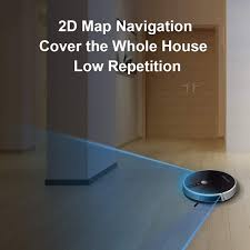 LIECTROUX C30B Robotic Vacuum Cleaner 2D Map ... - Amazon.com