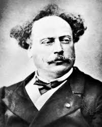 Menu d'un dîner de douze couverts offert par M.<b>Alexandre Dumas</b>, - Alexandre_Dumas3