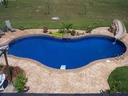 concrete pool patio x