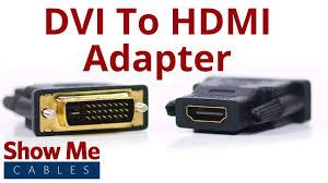 <b>DVI</b>-<b>D Dual Link</b> Male to HDMI Female Adapter #3600 - YouTube