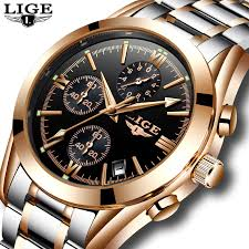 <b>Relogio Masculino LIGE Men</b> Top Luxury Brand Military Sport Watch ...