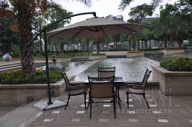 parasol patio umbrella solid  meter aluminum outdoor sun patio umbrella parasol garden furniture co