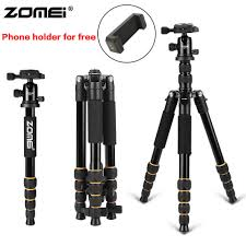 <b>ZOMEI</b> Z669C <b>Professional Heavy</b> Duty Travel Carbon Fiber Tripod ...