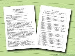 image titled make a resume step 4 how to make a perfect resume step by step
