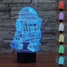 R2-D2 <b>Star Wars 3D LED</b> Lamp – AgentLEDz