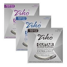 <b>Ziko Dus Series Acoustic</b> Guitar Strings Hexagon Carbon Steel Core ...