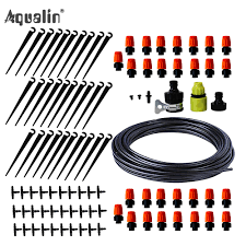 25m <b>Automatic</b> Micro Drip <b>Irrigation System</b> Garden <b>Irrigation</b> Spray ...