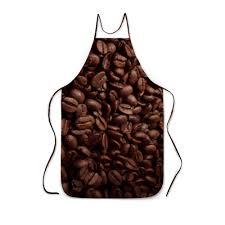 Заказать фартук с полной запечаткой Кофейные зерна ...