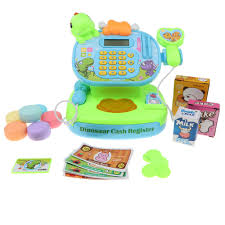 Kids Electronic Cash Register With Scanner Microphone <b>Toy</b> ...