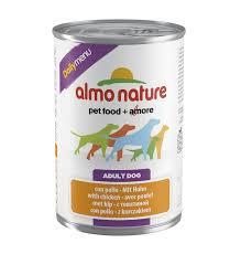 "<b>Консервы Almo Nature</b> для собак ""Меню с курицей"" 400гр"