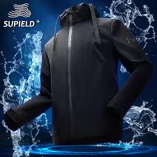<b>Supield hydrophobic</b> black technology waterproof <b>anti</b>-<b>fouling</b> jacket ...