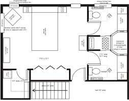 Standard Ft X Ft Master Bathroom Floor Plan With Bath And Shower - Standard master bedroom size