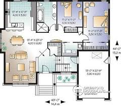 Simple Single Story Bedroom Adorable Single Floor House Plans    Incredible  Square Glamorous Single Floor House Plans