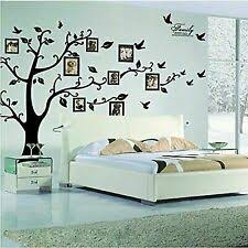 Family <b>Tree Large 3D</b> Décor Decals, Stickers & Vinyl Art for sale | eBay