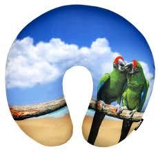 Купить <b>Подушка</b> для шеи <b>RATEL Animal</b> (<b>подушка</b>), <b>Green</b> parrot ...