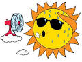 Images & Illustrations of hot weather