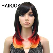 <b>HAIRJOY Synthetic Hair</b> Wig <b>Women</b> Wavy Wigs 3 Colors Available ...