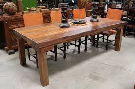 long walnut dining table image x