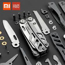 In stock xiaomi <b>huohou multi function pocket</b> folding knifes pliers ...
