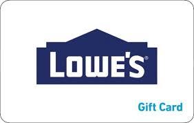 Lowe's eGift Card | GiftCardMall.com