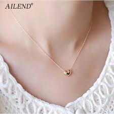 AILEND <b>New design Simple Fashion</b> jewelry women short ...